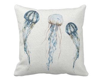 Pillow Cover Beach Decor Jellyfish