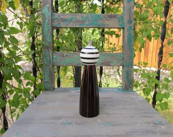 Tall pepper mill etsy Funky salt and pepper grinders