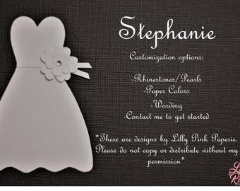 "Will You Be My Bridesmaid - The ""Stephanie"" Design"