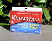 Joke Medicine Box: Knowitall! - Download & Print | Gag Gift | Stocking Stuffer | Gifts for Men | Joke Box | Gag Box | Candy Lover Gift