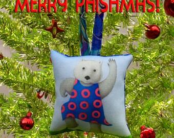 Phish Abe the Wombat Ornament Phan Art by SBMathieu