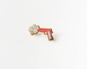 Peace Gun Enamel Pin for Charity *100% PROFITS DONATED*