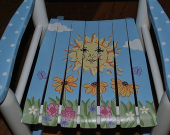 New For 2017-Rocking Chair-Rocker-Chair-You Are My Sunshine--Baby Shower Gift-Nursery Furniture-Child Chair-Baby Gift-Rocker-Kids Rocker