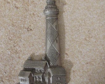 Beautiful Lighthouse Scene by the Spoon Pewter Company - Magnet