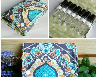 10 ml roller bottles Essential Oils Travel Case - Travel Bag - Essential Oils Travel Wallet