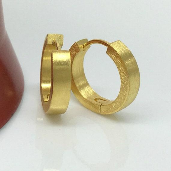 s hoop earrings citron gold hoop earrings for