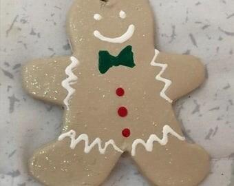 Christmas Tree Ornament - Gingerbread Man