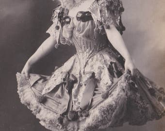 Dancer in Fabulous Costume by NPG of Berlin, circa 1906
