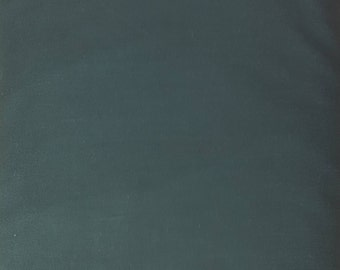 "Dark Green solid 108"" wide back 100% cotton fabric"