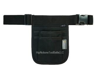 Small Black Cotton Canvas HipNotions Tool Belt