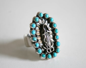 Persian Turquoise Sterling Maria Ring