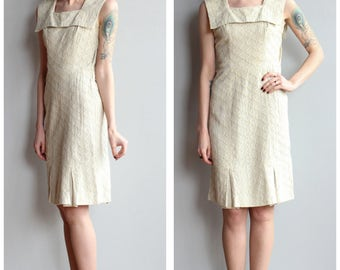 1950s Dress // Biltmore Sheath Dress // vintage 50s dress