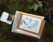 Field Watercolor workshop and kit: May 13 Discovery Park