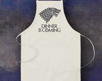Game of Thrones Inspired Dinner is Coming Apron