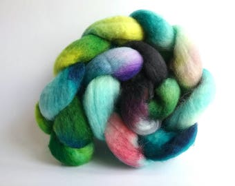 Coral Reef Blue Faced Leicester tops for spinning or felting