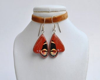 One-of-a-kind handmade earrings 'butterfly wings' (ready to ship)