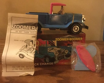 Vintage 1970s Topper Toys Zoomer Boomer Quick Change