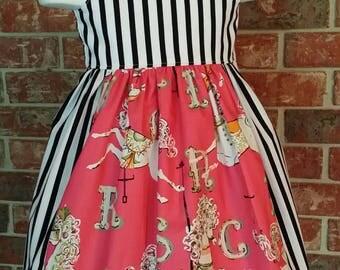Carousel Horse Sundress dress