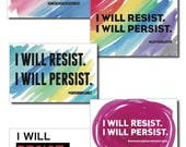 Postcards for the Resistance - Political Activist - set of 10