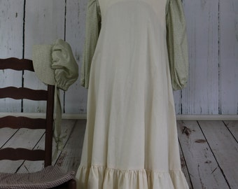 Girls' Prairie Outfit, size 10-12, Emma, Old West, Frontier 1870's to 1890's