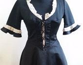 French Maid Uniform Dress Costume