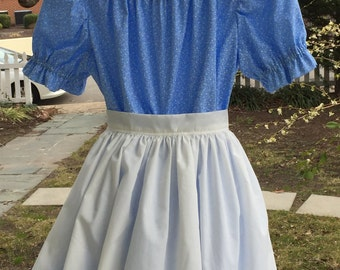 Ships Today -Pioneer, Prairie, Colonial  Felicity, American Girl Costume -   Girls Sz  12 - 14