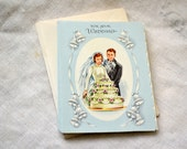 1950s NOS Bridal Gift Card with Envelope