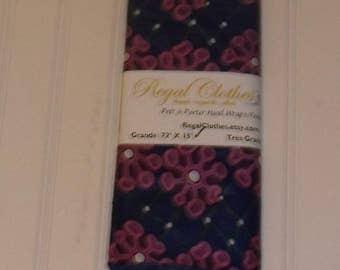 Pink Flowers Ankara Head Wrap Tribal Print HeadWrap Gift Ideas For Mom Women Turban Fashion  Holiday Fashion Scarf Mothers Day Gift For Mom