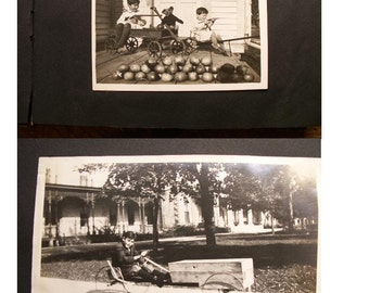 Vintage Photo Album from the early 1900's in Southern Wisconsin