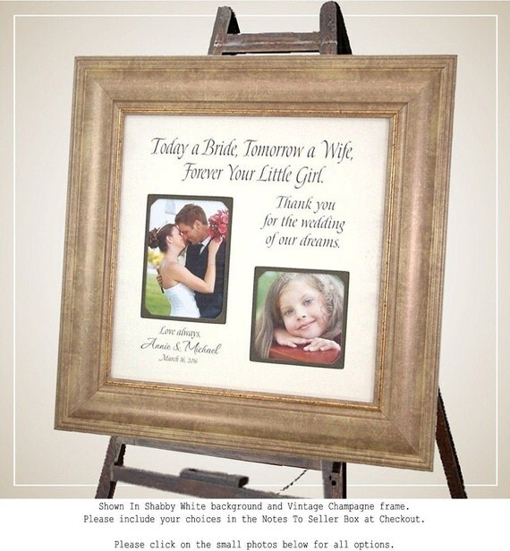 Mother of The Bride Gift, Parents Wedding Gift, best friends ...