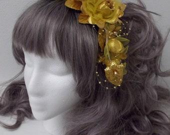 Bonnet Comb Choose Your Color: Metallic Gold