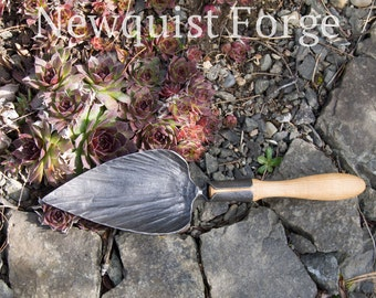 Gardening Tools, Trowel, Potting Trowel, Heirloom Spade, Shovel, Heart Shaped Trowel, Iron and Hickory, English Style tool, Father's day