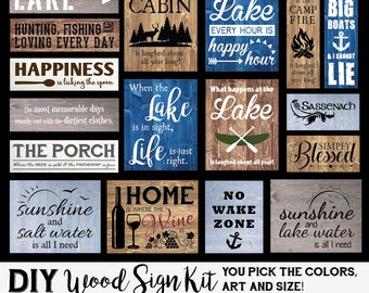 Vinyl Wall Decals Personalized Gifts  Custom By Wildgreenrose - Make your own decal kit