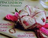 July/August 2008 PIECEWORK PIECE WORK Needlework & History Magazine - Counted Cross Stitch Embroidery Needlepoint Lacework Knitting