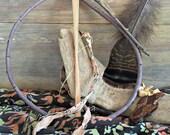 willow dream catcher kit , original dreamcatcher DIY craft kit