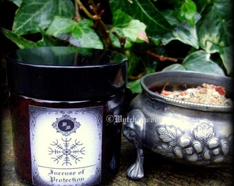 Incense of Protection 60ml jar; Protection, Witchcraft, Occult, Magic, Wicca