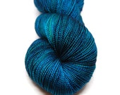 "Fingering Weight, ""Kashmir"" Merino Wool Superwash Yarn, 4 oz, machine washable yarn"