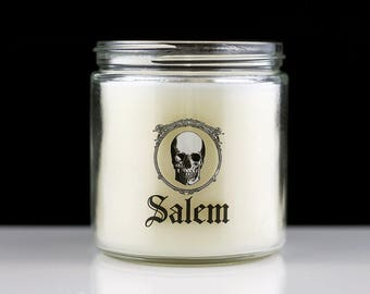 Large Scented Candle - Salem - Woodsy