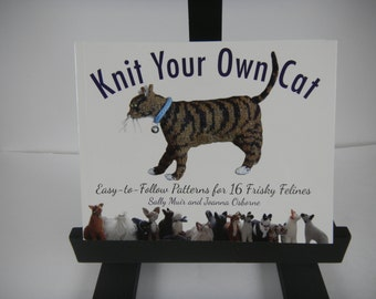 Pattern Book:  Knit Your Own Cat