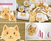 Cat Party Decorations, Ca...