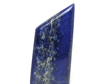 Lapis Lazuli Blue Polished Gemstone Cabochon,  Loose Gem, Semiprecious Stone,  Pharaoh's Stone with Pyrite
