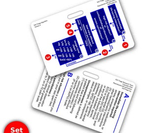 ESI Horizontal Badge Reference Cards - 2 Card Set