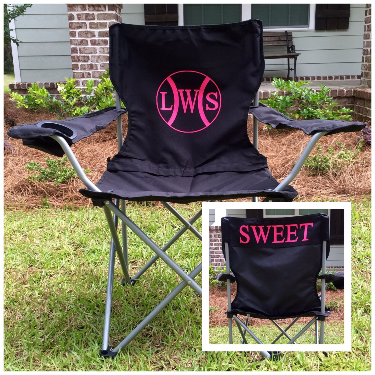 Monogrammed Chair Personalized Chairs Custom Coach s
