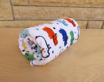 Blanket // Hippo's // Hippo Minky Blanket // Swaddle Blanket // Hippo Baby Gift