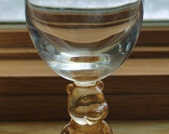 Disney Winnie the Pooh Glass - Stem Goblet - Walt Disney Company - Collectibles - Drinking Glass - Wine Glass - Barware -  Kitchen Decor