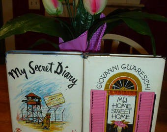 Giovanni Guareschi Don Camillo My Secret Diary 1943-1945 & My Home Sweet Home 1958 HC 1966 Lot of 2 Books