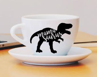 Mamasaurus Decal, Mom Decal, Mamasaurus Car Decal, Mamasaurus Mug Decal, Mamasaurus Laptop Decal, Dinosaur, Mom Gift, Wine Glass Decal, Mom