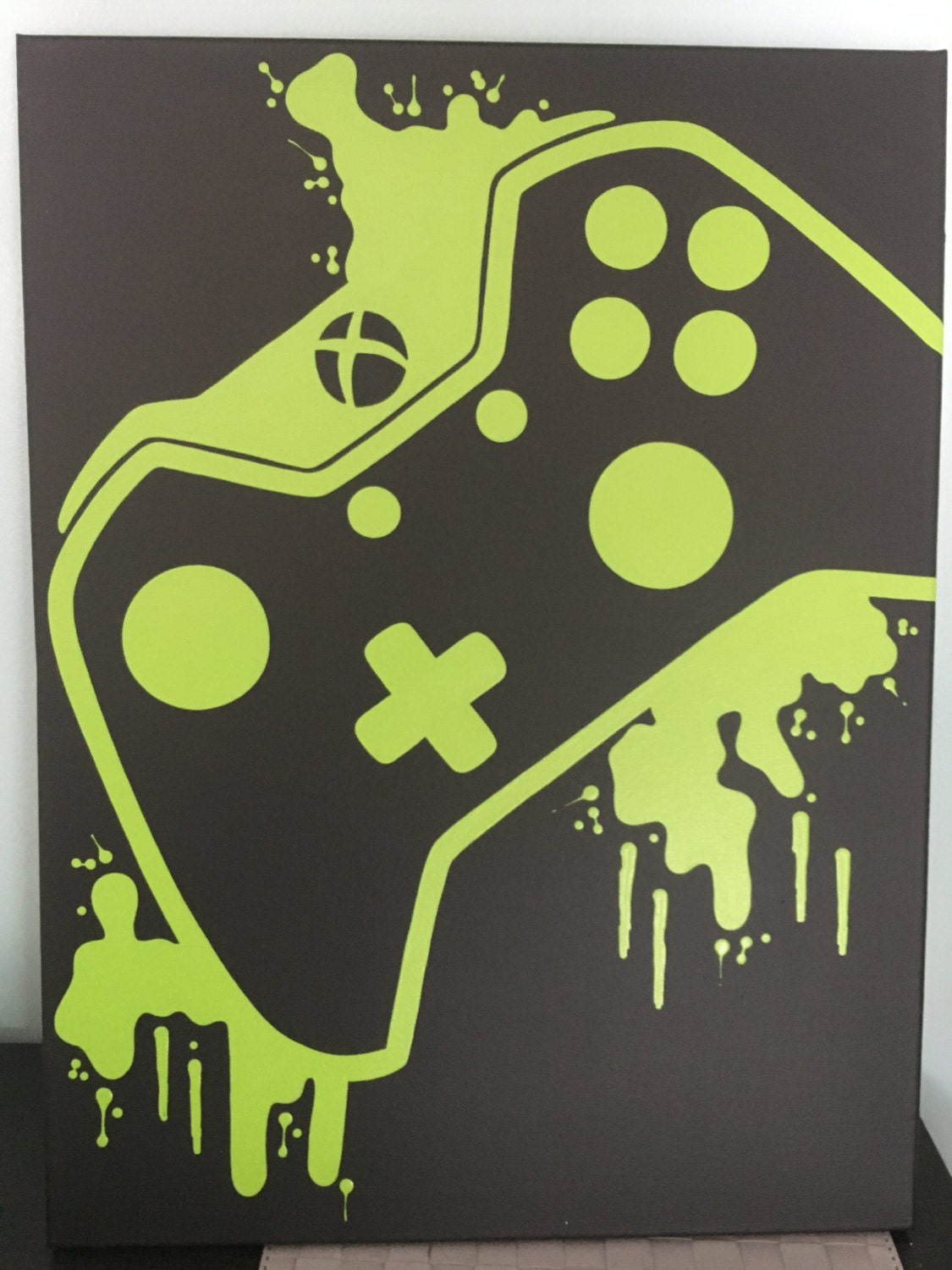 Xbox One Video Game Controller Art