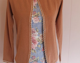 Sale! Vintage 60's Women's Talbott Cardigan, Never Worn with Tags!