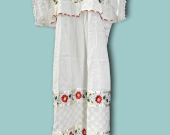 Mexican style dresses for women, Mexican dress costume, floral embroidered flare dress, cotton mexican dress, mexican dress up party ideas